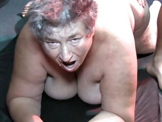 Eva's lust is as big and old as she is. This chubby and wrinkled slut can't get enough cock event at her age. The guy needs to use a strap o