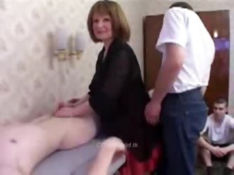 Mom friends started with a massage then sex