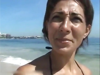 I picked up and fucked brazilian MILF on vacation