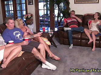 Quarantined Family Reunion Turns Into a TABOO Orgy