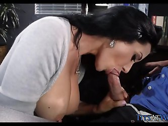 Gorgeous Coworker Fantasy Fuck at Work