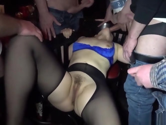 New Gangbang Parties With Hot Wife Nicole