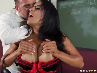 Keiran Lee is busy with intensive work flow and loses the track of time. He barely manages to fulfill his own schooling duties, when Kiara Mia comes i