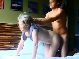 My wife fucked on real hidden cam 4