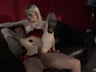 Hardcore fucking between a horny guy and blonde Sofia Valentine