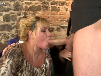 One Lucky Dude Having Sex With Three Naughty Housewives - MatureNL