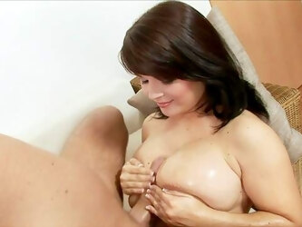 Flaming babe with huge natural tits, crazy cam porn