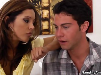 Professor Francesca Le'is working late grading papers and is surprised when she sees her student Seth walk into her classroom. She advises him th