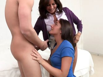 This hot young couple wanted to get some loving in while her parents were away. Seth went straight for the ass. Her ass was nice and ripe while her pu