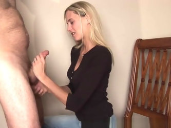 Cheating Wife Sucks Cock takes massive face full of cum!
