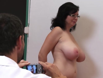 Czech Jana 36H breasts