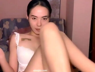 Chinese pussy, orgasm squirt