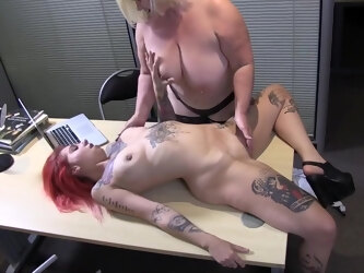 Lacey Starr in Model student fuck the lesbian agent for job