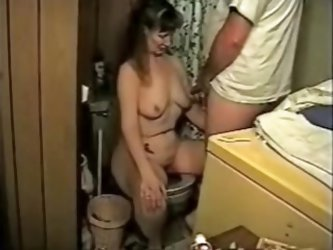 Pervert mature wife video. Amateur mature wife having a cum shot from her husband in her tits wile having a pee. See more pervert mature wife