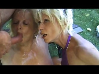 FRENCH MATURE 11 anal mature mom milf in threesome dp