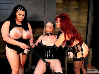 Hot lesbian triad with Angelina Castro, Sexy Vanessa and Maggie Green