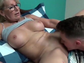 Lonely Mature MILF with BOY