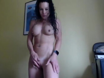 Amateur Hot Fit MILF With Big Clit Sexy Joi #1