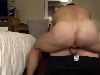 Mr BigHOLE Big Ass Gay Escort Fucked in Hotel