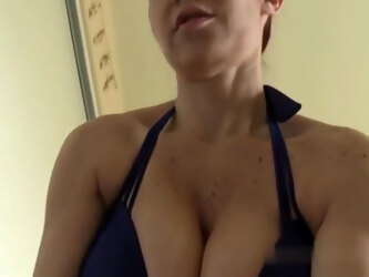 Mom Catches Stepson Jerking Off