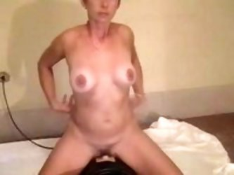 When this mature wife was buying a vibrating dildo she even couldn't imagine how many pleasurable moments it would give her.