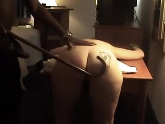As most of the white bitches, this MILF was pretty eager to have some real fun with my big black dick. In this private video I spanked her butt and th
