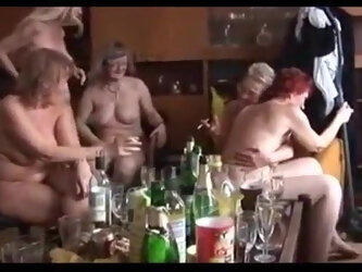 Czech Mature Sex Party