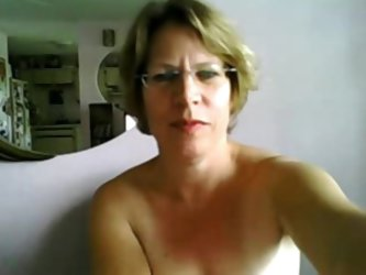 Huge pale white titties and a tight pale white ass make their first appearance on webcam, at the late age of 56. The mature slut, reads what her sex p