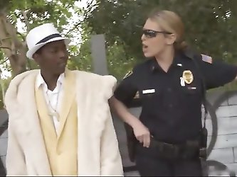 Pimp harassed by 2 Fascist Cops