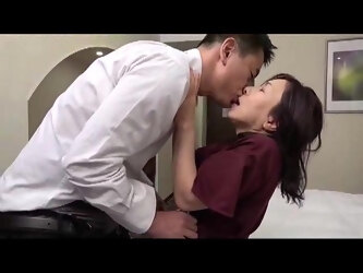 Hot japonese mature in action 0