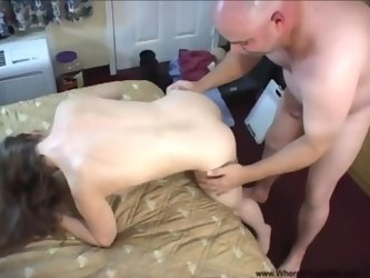 Pregnant MILF Gets Butt Fucked