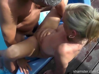 Fucking the wife on vacation