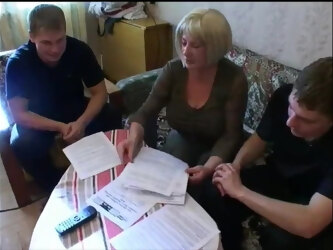 Russian Mom Tutors Young Boys: MTHRFKR
