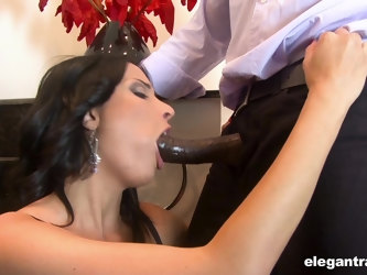 French MILF Anissa Kate can give any man a raging hard on and she loves BBC