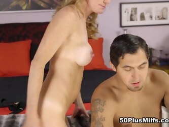 Story of a creampie - Denise Day and Juan Largo - 50PlusMILFs