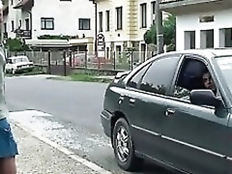 Old granny gets picked up and fucked