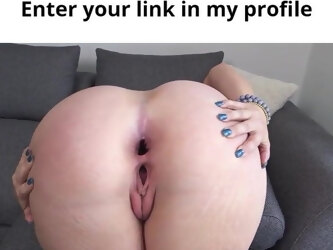 Amazing ass and puffy pussy bbw girl