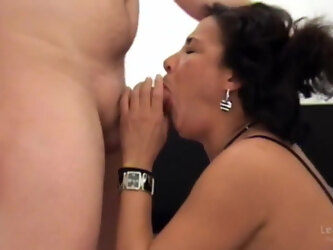 Young man has first anal sex with oriental girl