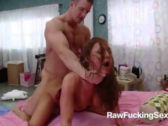 Hot stud TJ got invited over by the horny milf goddess