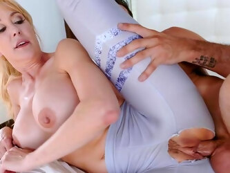 Mix of sporty hotties, such as Alexis Fawx and Brandi Love, getting fucked