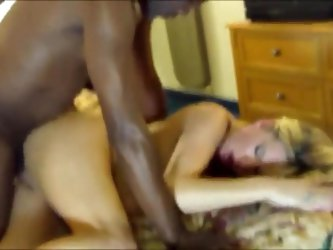 Hot blonde milf with bbc