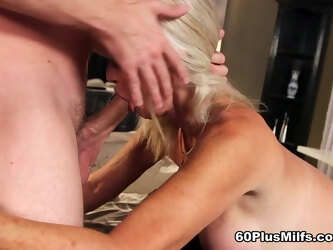 Leah's First Video Fuck Is With A Young Stud - Leah L'amour And Tony Rubino - 60PlusMilfs