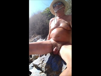Getting Naughty on a Nudist Beach.