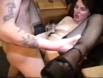 UK amateur mom gets anal fucked