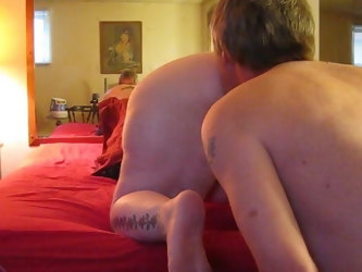 woo we fucked in my ass hard & deep & my husband cums in me