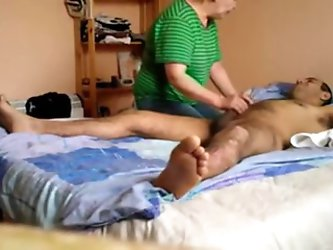 Oma Massage mit Happy End