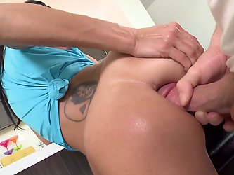 Ava Addams is back once to get her beautiful asshole banged out. She says she loves BangBros and loves to nut with a big cock in herass. She never dis