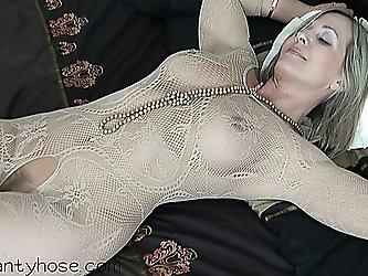 ala polish milf in white bodystocking