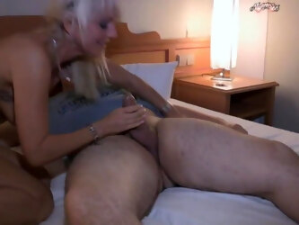 First Sex for Young Boy with Hot Milf