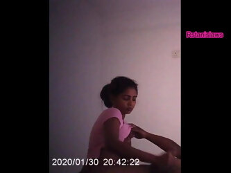 Sri Lankan Massage Parlour, Sexy Girl With Customer